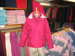 Our Shop - lightweight and heavy duty waterproofs.